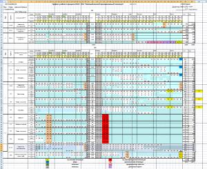 График учебного процесса 2014-2015 уч.год